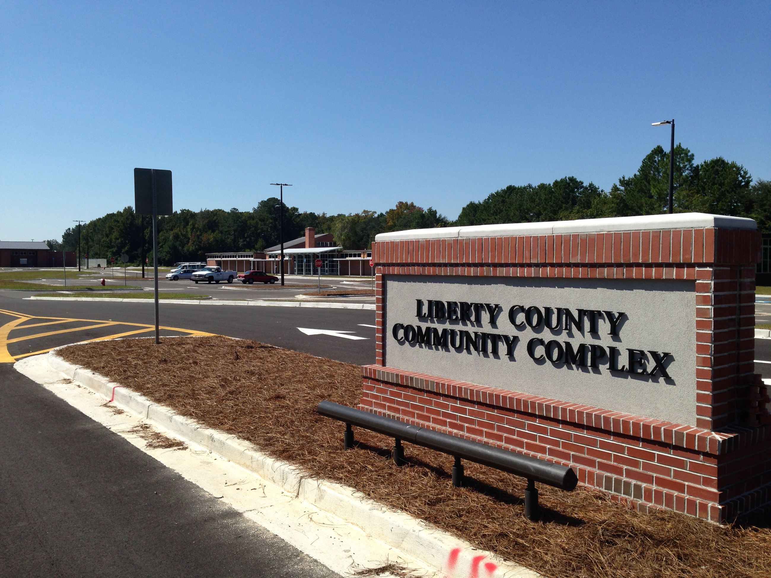 Liberty County Community Complex Sign