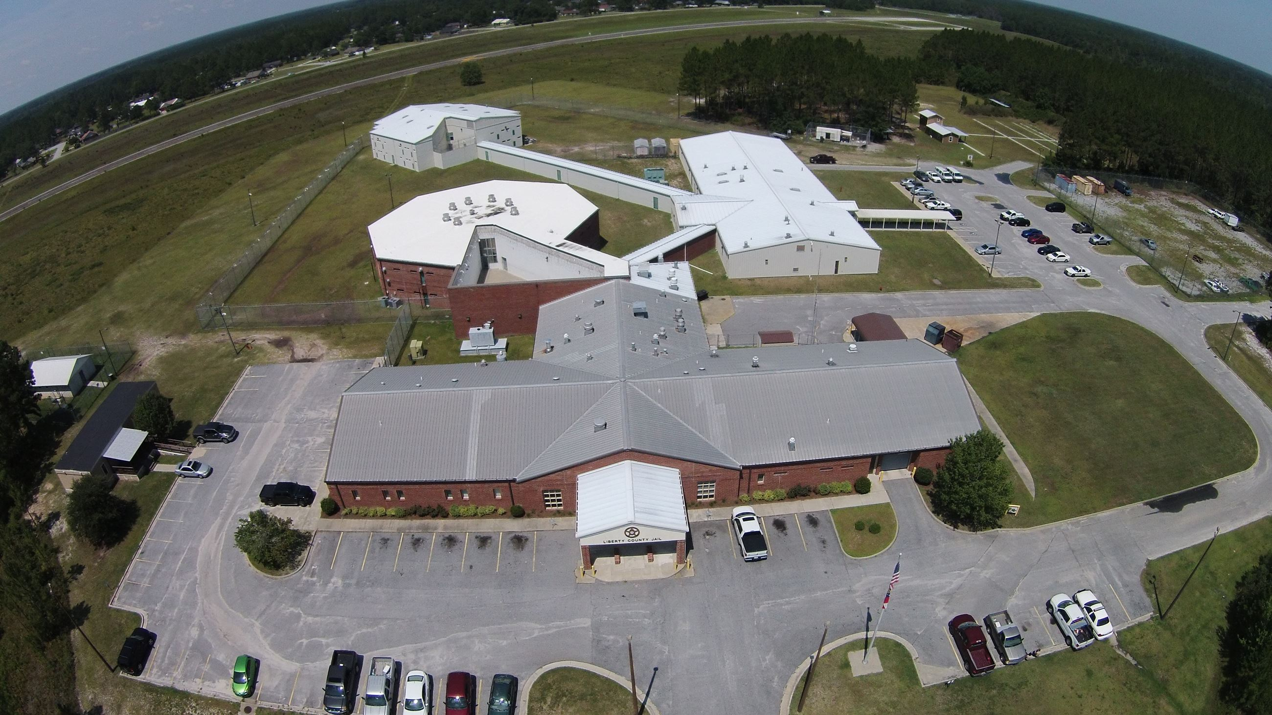 Aerial View of Liberty County Jail Complex